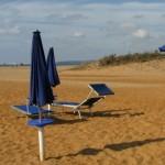 spiaggia a settembre